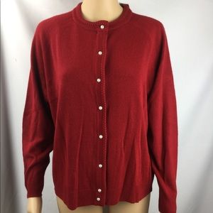 Karen Scott Button Down Cardigan